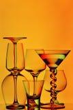 Produtos vidreiros abstratos Imagens de Stock