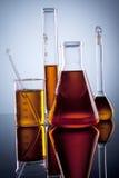 Produtos vidreiros da ciência Imagem de Stock