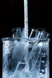 Produtos vidreiros da ciência Fotografia de Stock