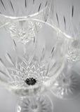 Produtos vidreiros de cristal Imagem de Stock Royalty Free
