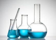 Produtos vidreiros de laboratório Fotos de Stock Royalty Free