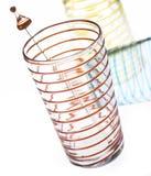 Produtos vidreiros espirais Fotografia de Stock Royalty Free