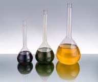 Produtos vidreiros químicos Foto de Stock Royalty Free