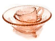 Produtos vidreiros retros Imagens de Stock Royalty Free