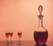 Produtos vidreiros velhos Fotos de Stock Royalty Free