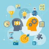 Produttività al concetto del lavoro royalty illustrazione gratis
