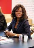 Produttore camerunese Calixthe Beyala fotografia stock libera da diritti