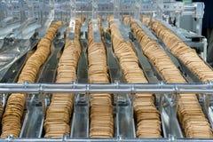 Produzione dei biscotti fotografia stock libera da diritti