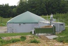 Produzione del biogas Fotografie Stock Libere da Diritti