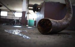 Produzione del brandy della prugna Fotografia Stock