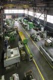 Produzione dell'Assemblea delle macchine utensili per il taglio di metalli Fotografie Stock
