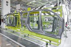 Produzione dell'automobile immagine stock libera da diritti
