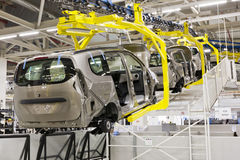 Produzione dell'automobile Immagine Stock