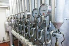 Produzione dell'impianto industriale specializzato degli additivi alimentari e dei grassi immagini stock libere da diritti