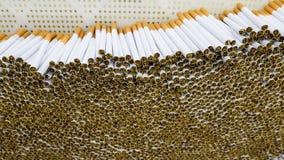 Produzione dell'industria del tabacco Immagine Stock