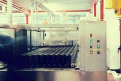 Produzione della linea del vino Immagini Stock
