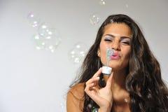 Produzione delle bolle Fotografia Stock Libera da Diritti
