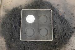 Produzione delle monete di alluminio Fotografia Stock