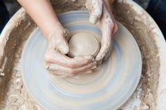 Produzione di ceramica Fotografie Stock Libere da Diritti