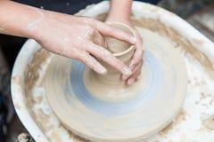 Produzione di ceramica Fotografia Stock