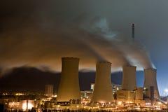 Produzione di elettricità Immagini Stock Libere da Diritti