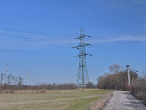 Produzione di energia Fotografie Stock