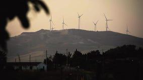 Produzione di energia eolica #2 stock footage