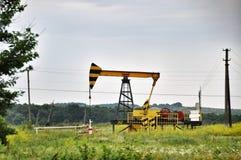 Produzione di olio minerale Immagini Stock