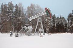 Produzione di petrolio. Immagine Stock