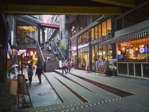 Proefbank, Chongqing stock fotografie