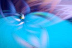 Proemin?ncia azul do fundo do fractal da chama backdrop ilustração stock