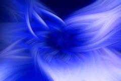 Proemin?ncia azul do fundo do fractal da chama futuristic ilustração do vetor