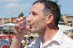 Proevend water Royalty-vrije Stock Fotografie