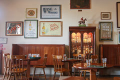 Proevende zaal in museum van Ierse whisky Stock Foto's