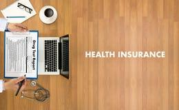 Prof. medico di sanità di sicurezza di rischio di assicurazione dell'ASSICURAZIONE MALATTIA fotografie stock libere da diritti