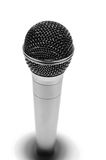 Prof metallic mic Royalty Free Stock Image