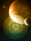 Profecia do Maya Imagem de Stock Royalty Free