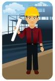 Profesión fijada: Arquitecto Stock de ilustración