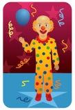 Profesión fijada: Payaso de circo Foto de archivo libre de regalías