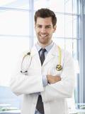 Profesional de la atención sanitaria que cuida Fotografía de archivo
