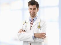 Profesional de la atención sanitaria que cuida Imágenes de archivo libres de regalías
