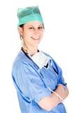 Profesional femenino atractivo joven del cuidado médico Fotos de archivo libres de regalías