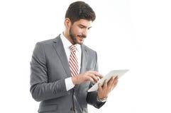 Profesional joven con la tableta digital Fotos de archivo libres de regalías