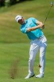 Profesional Michael Hoey Swinging del golf Imagen de archivo libre de regalías
