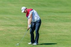 Profesional Stephen Gallacher del golf Fotografía de archivo libre de regalías