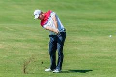 Profesional Stephen Gallacher del golf Imágenes de archivo libres de regalías