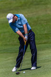 Profesional Thomas Aiken Swinging del golf Fotos de archivo