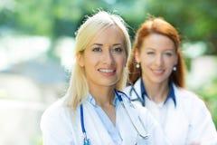 Profesionales de la atención sanitaria Imagen de archivo