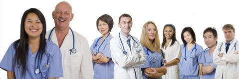 Profesionales del cuidado médico Fotografía de archivo
