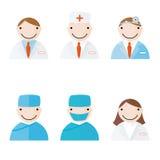 Profesionales médicos Ilustración del Vector